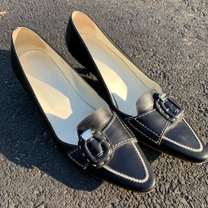 Tod's shoes size 10 (40) Black and Tan